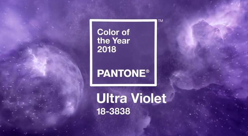 Ултравиолет – цветът на 2018