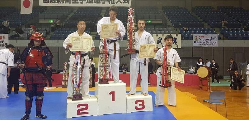 Бургазлия с бронз от Grand Prix по киокушин в Япония
