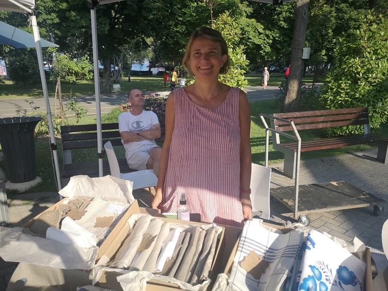 Ирена Атанасова: Заложете на продукти от 100% естествен лен