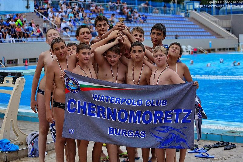 """Ватерполистите на """"Черноморец"""" спечелиха вицешампионската титла"""