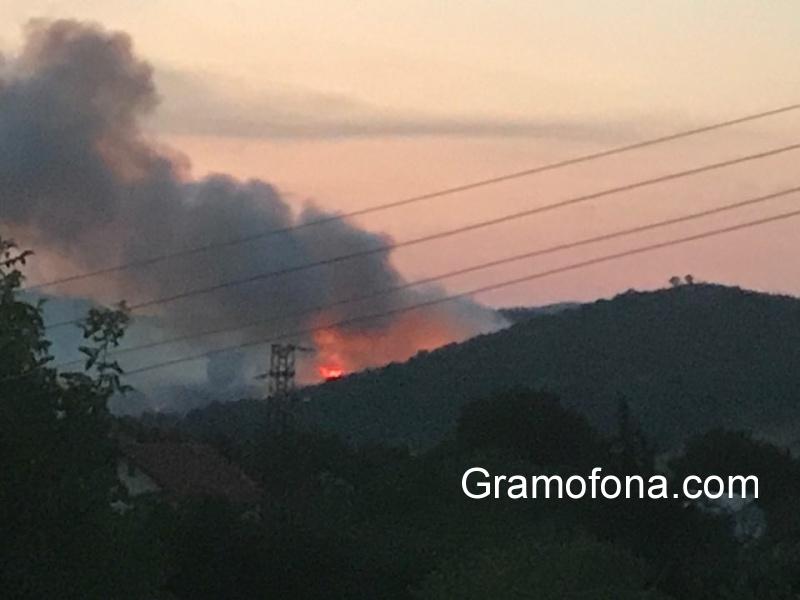 Димитър Николов обяви бедствено положение заради пожара