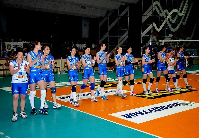 Бургас 2007 в ТОП 4 на елитния ни волейбол