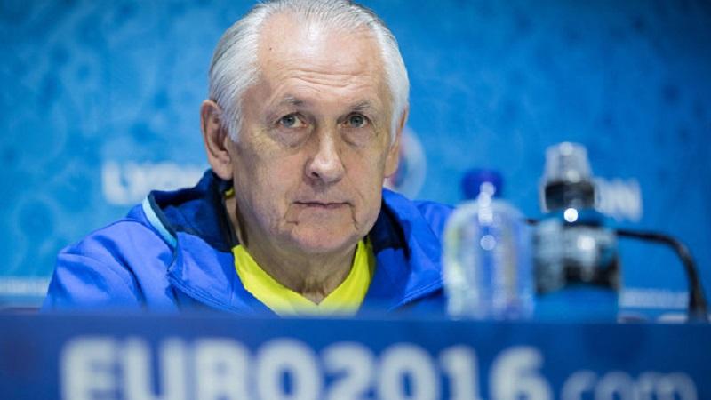 Треньорът на Украйна подава оставка