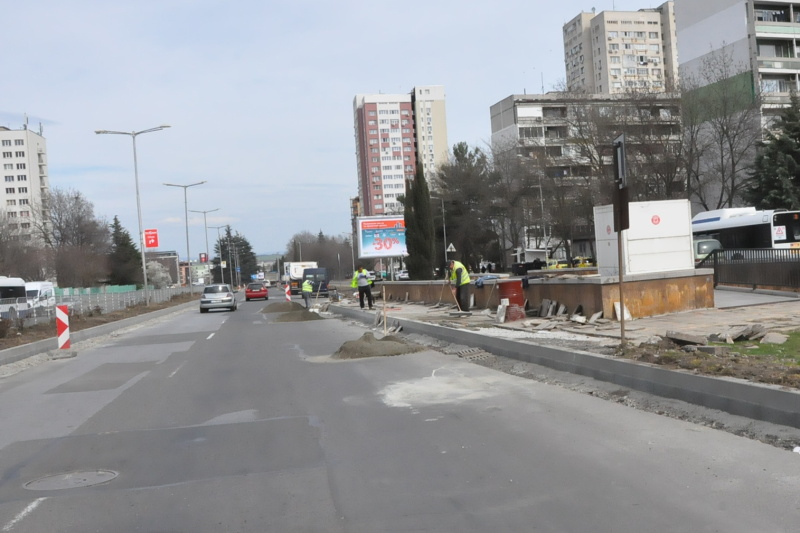 Започва цялостен ремонт на голям булевард в Бургас, променят движението