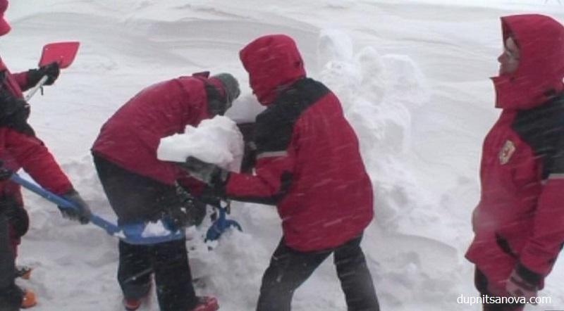 Жена оцеля над денонощие при минус 20 градуса в Рила