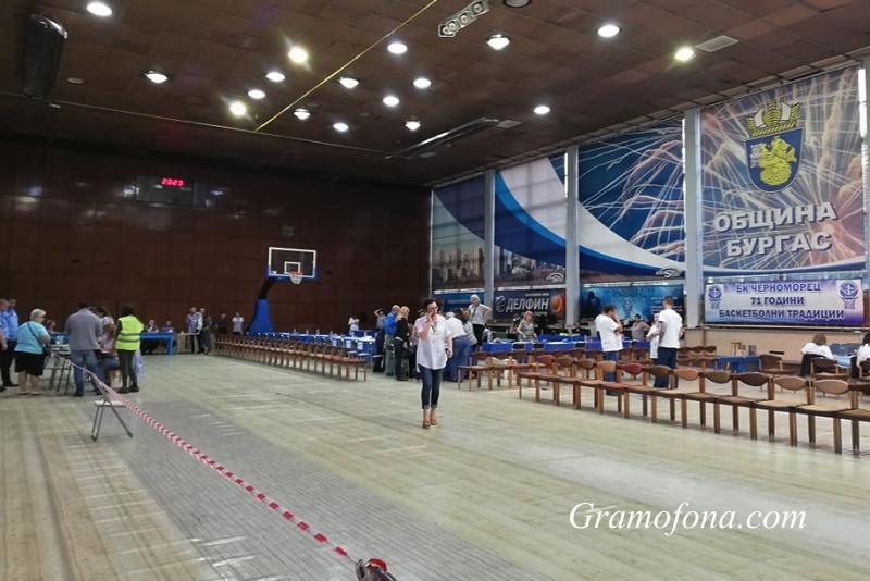 Резултатите от евровота в Бургас при 100% обработени протоколи