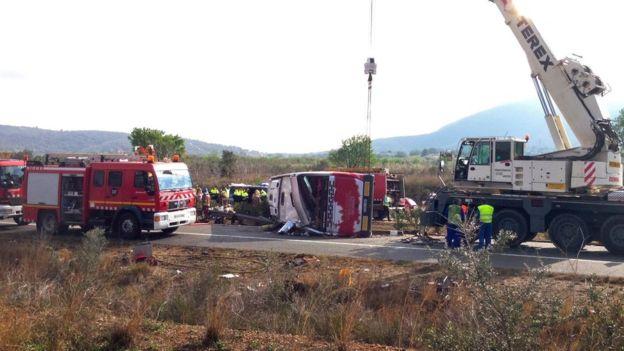 Бургазлийка сред пострадалите при смъртоносната катастрофа в Испания