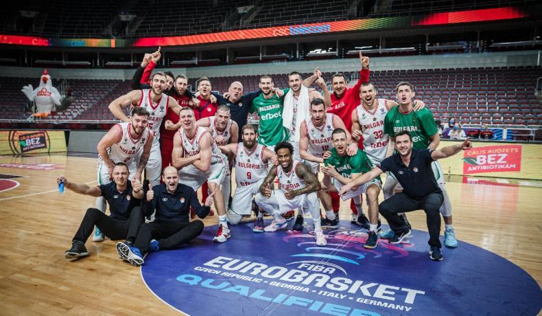 България се класира за Европейското първенство по баскетбол