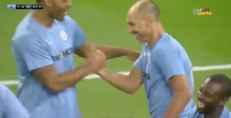 Мартин Петров се завърна в Манчестър Сити и вкара гол (ВИДЕО)