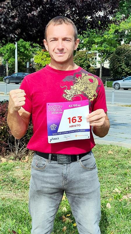 Несебърлия участва на маратона в София