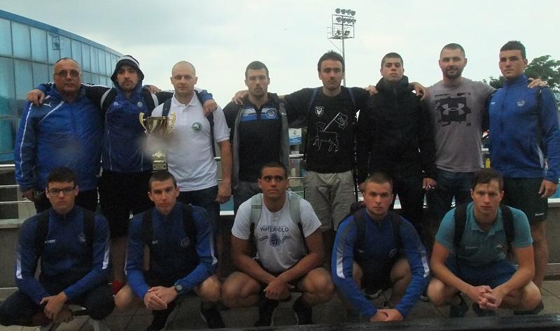 """""""Черноморец"""" вдигна втора вицешампионска купа при мъжете"""