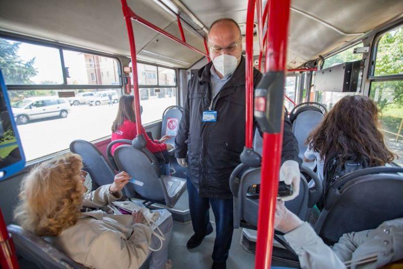 Ще проверяват за носенето на маски във варненските автобуси