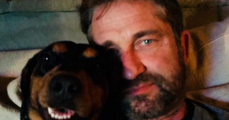 Джерард Бътлър даде интересно име на българското си куче