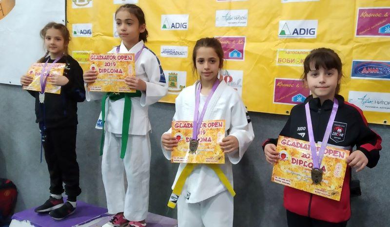 Бургаски джудисти спечелиха седем медала от турнир в Пловдив