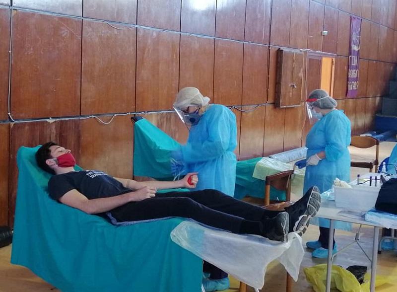 Бургаските спортисти в акция по кръводаряване