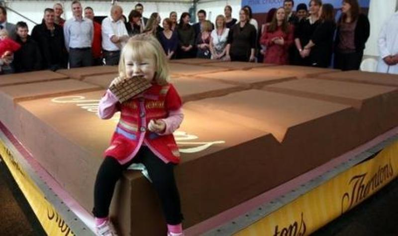 Колко струва най-големият шоколад?