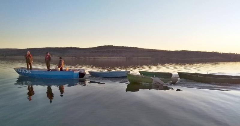 Седем скрити лодки са открити при мащабна акция на Вая