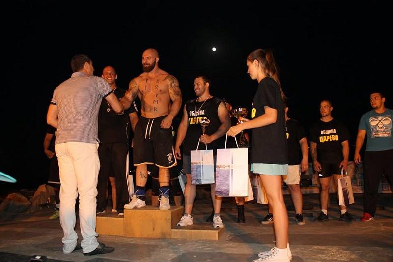 Железни атлети мериха сили в Царево