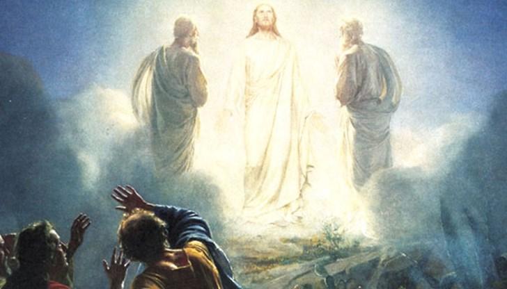 Църквата празнува Преображение Господне