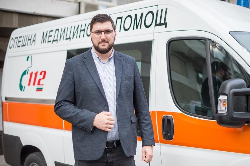 Дончо Златев, СДС: Бургас ще има своя детска линейка и детска болница