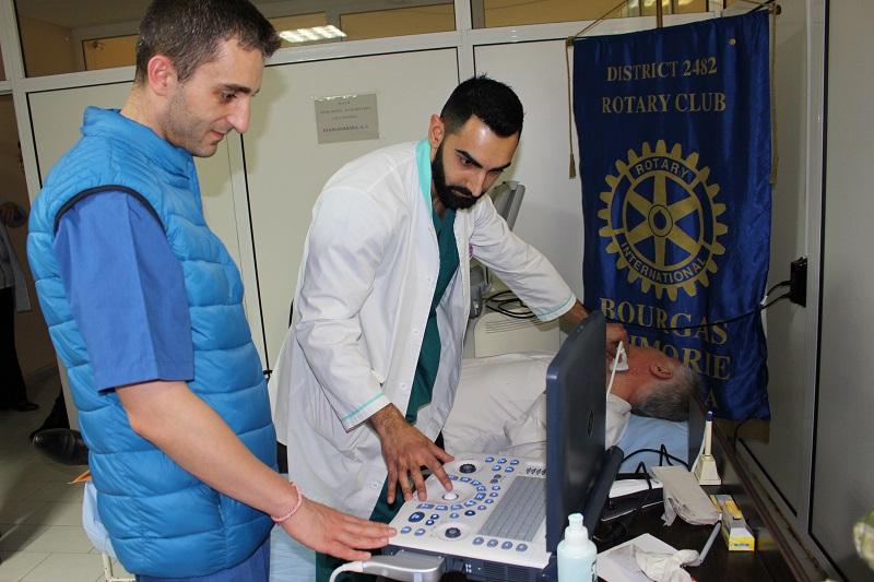 Ротари и УМБАЛ Бургас започват безплатни прегледи за превенция на инсулта