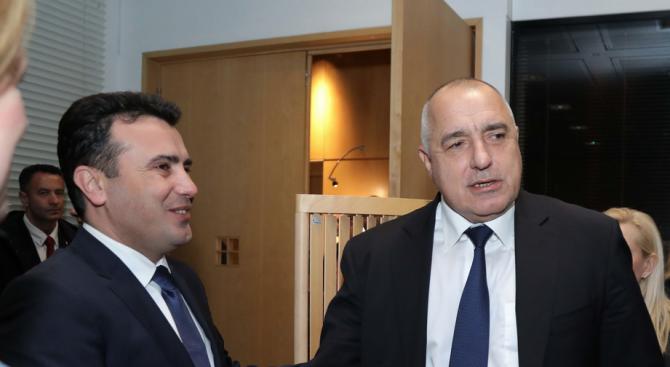Зоран Заев търси среща с Бойко Борисов за македонския език