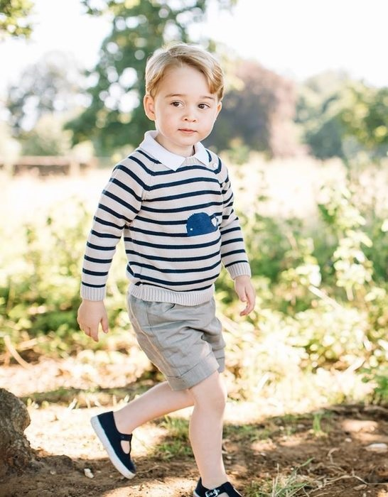 Принц Джордж- икона на детската мода