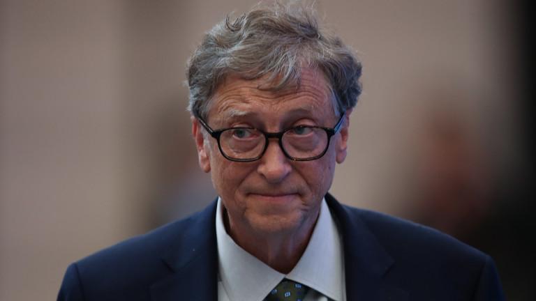 Бил Гейтс: Облекчения на мерките в САЩ най-рано юни