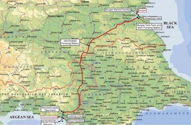 Петролопроводът Бургас – Александруполис аут от програмата на БСП