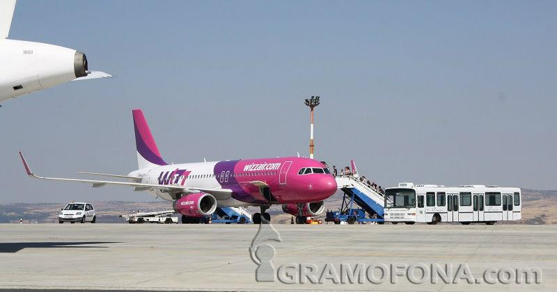 Летище Бургас с най-много полети за последните 10 години