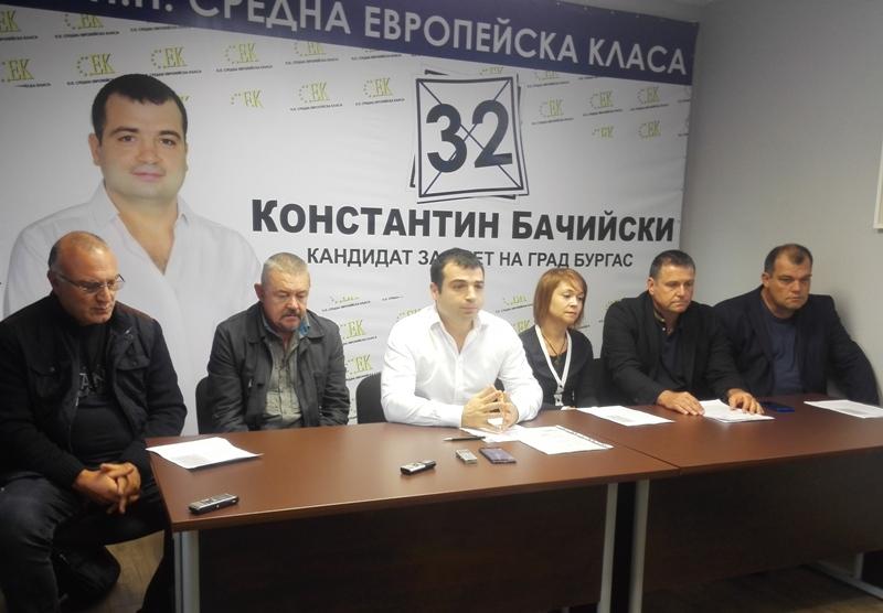 Кандидатът за кмет Бачийски: Целим Бургас да влезе в топ 100 на Европа
