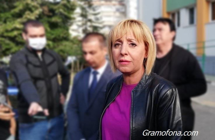 Мая Манолова защити протеста на полицаите