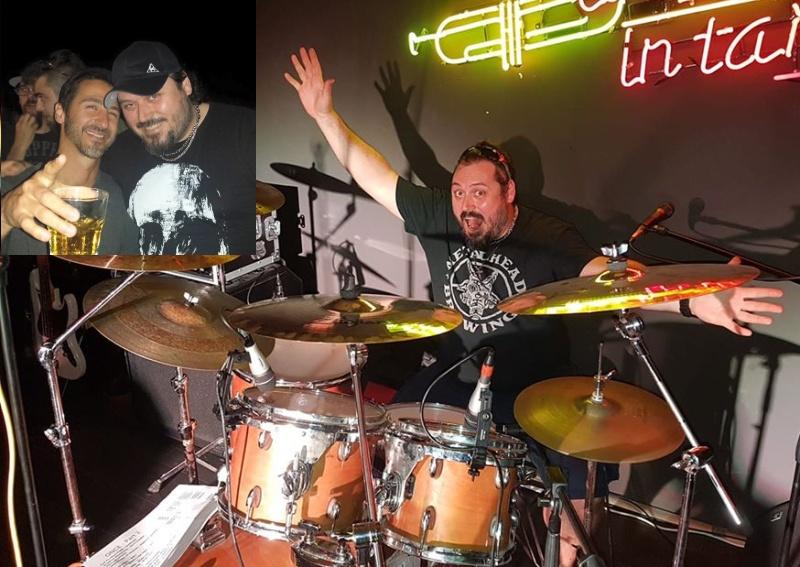 Бижутерът барабанист Николай Кустев срещнал Съли Ерна в Бургас