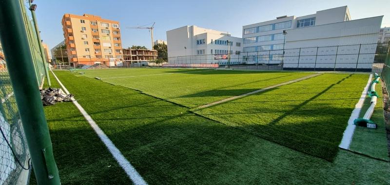 Нов футболен терен откриха в Бургас