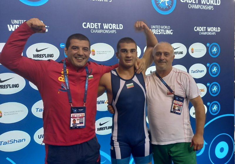 Бургаски борец спечели бронз на Световното за кадети в Будапеща