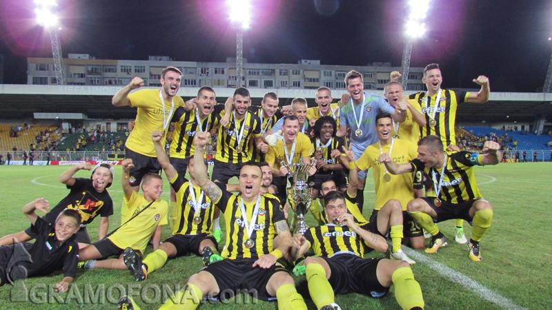Вижте лудата радост на футболисти и фенове на Ботев (Пловдив) в снимки