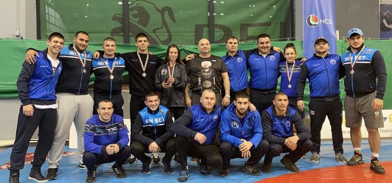 Невероятен успех за борците от Черноморец-Бургас в първите дни на новата година
