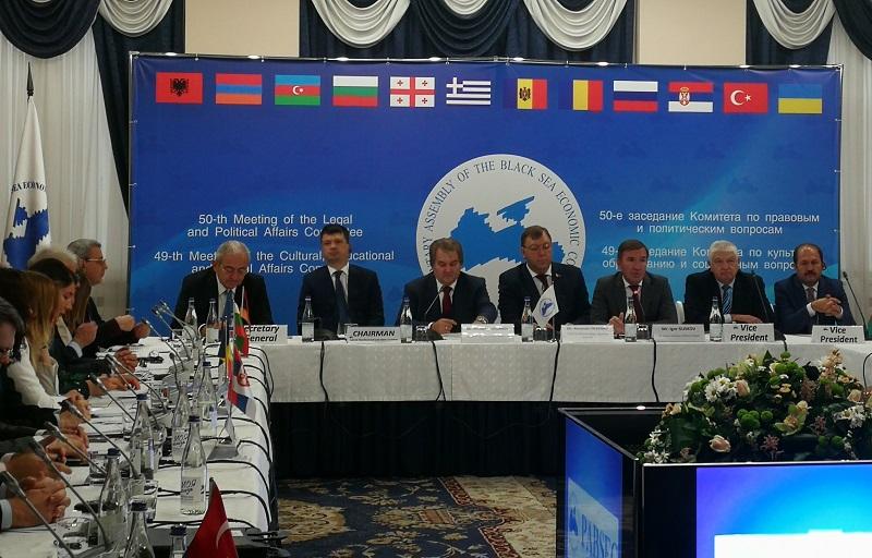 Инфарктни заседания на Парламентарната асамблея на Черноморското икономическо сътрудничество