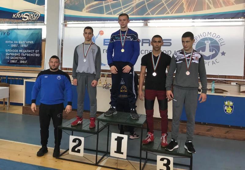 Нови медали за нахъсаните борци от Черноморец-Бургас