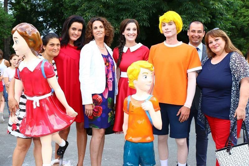 3D фигурката Кели в памет на Краси от Крушевец