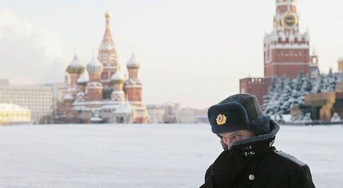 Рекордни количества сняг в Москва