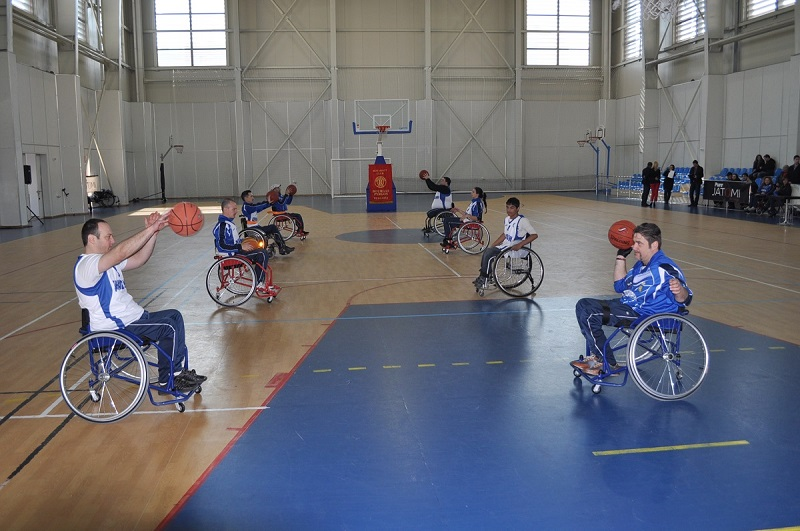 Баскетбол на колички тази събота в Бургас