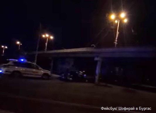 Пияни и дрогирани хлапета катастрофираха след луда гонка из нощен Бургас