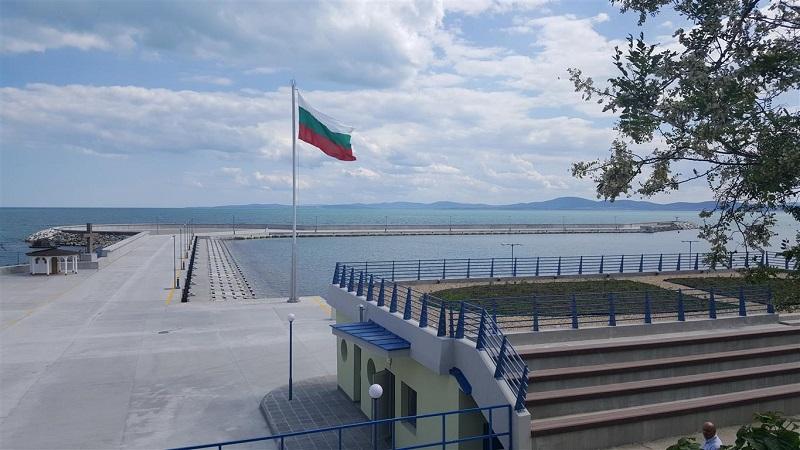 Рибарското пристанище в Поморие получи разрешение за ползване