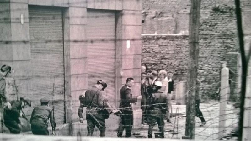 55 години от издигането на Берлинската стена