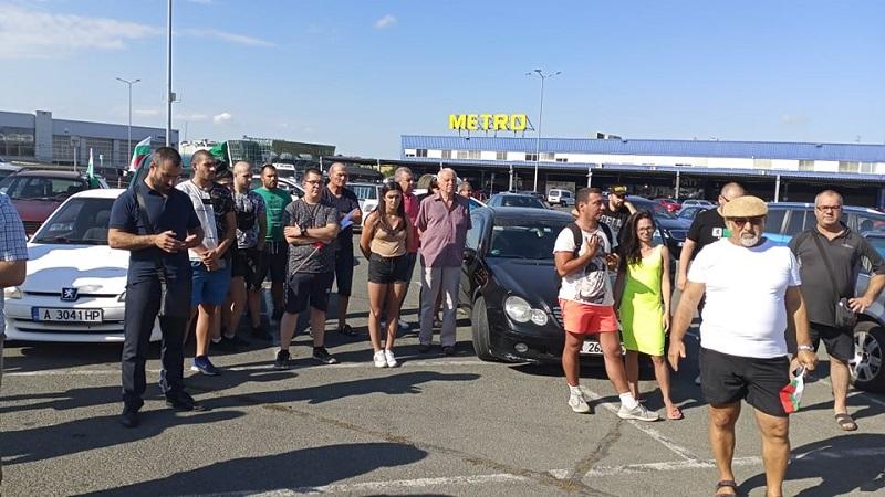 20 коли ще блокират след минути входа на Бургас