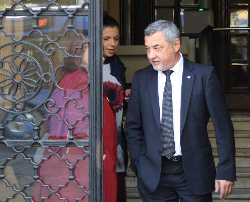 Валери Симеонов ще е водач на листата на НФСБ за евроизборите