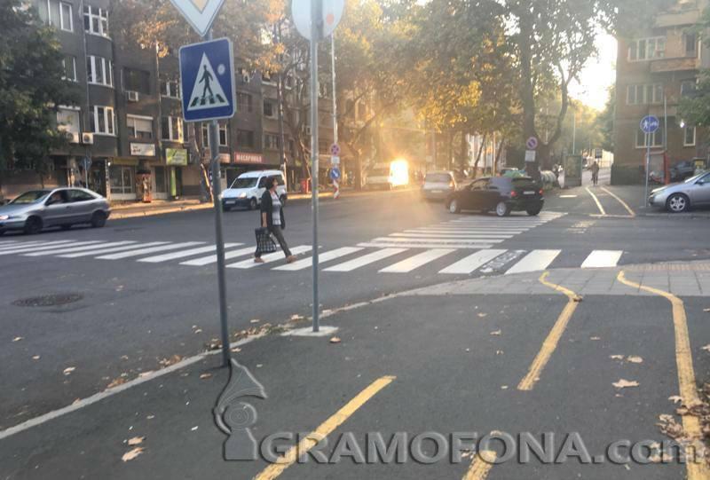 Бургаско кръстовище стресира пешеходци и шофьори