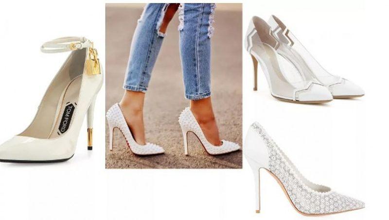 Белите обувки-  хит за сезона