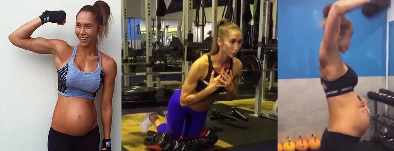 Новата мания - фитнес бременност